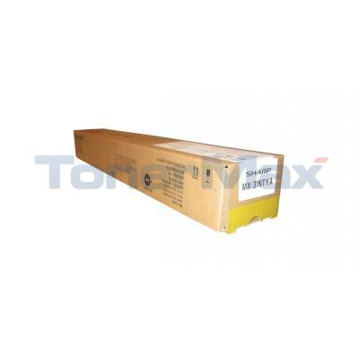 SHARP MX-3100N TONER CART YELLOW